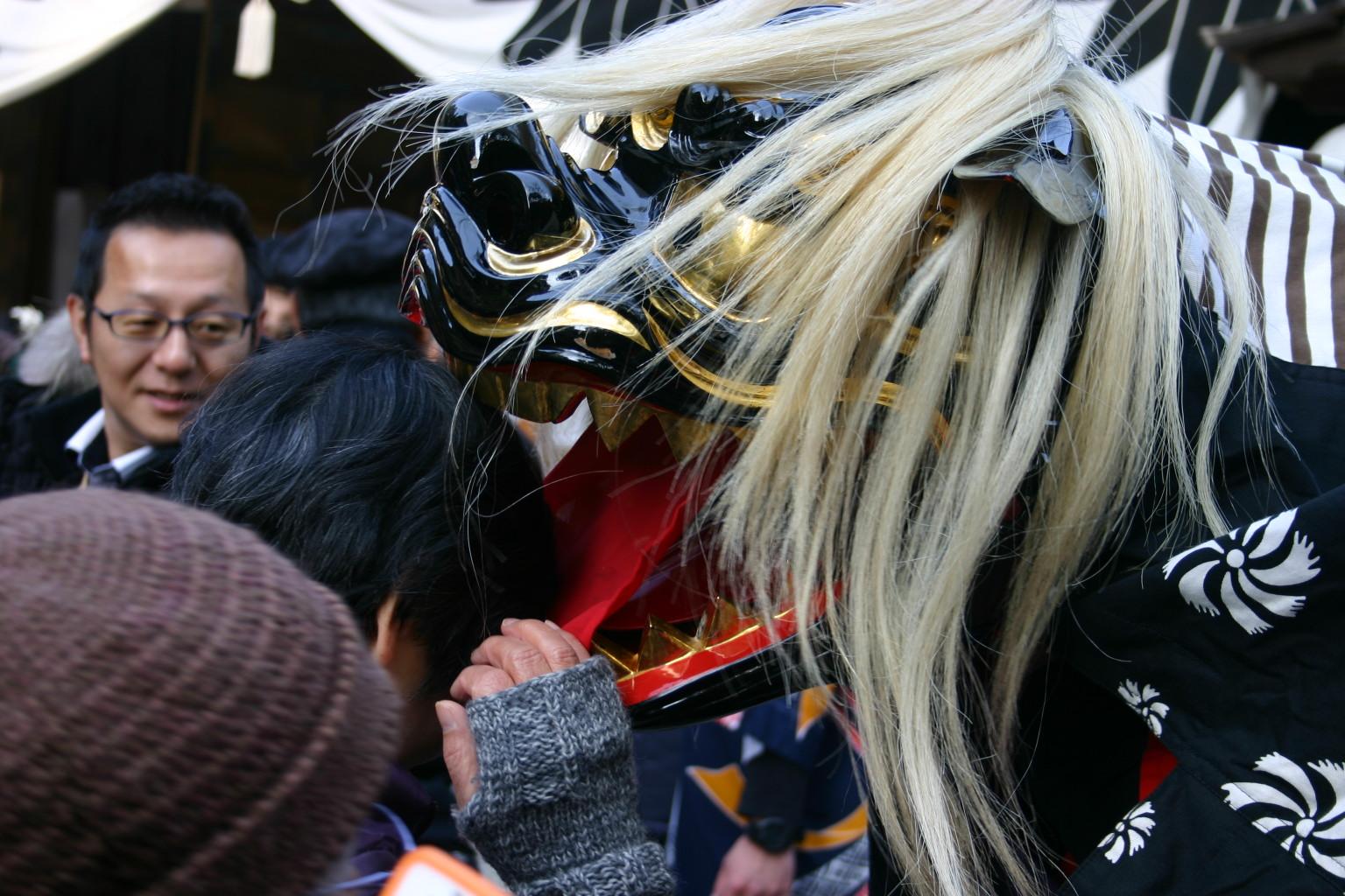 獅子舞 獅正 プラスワングループ 多田神社